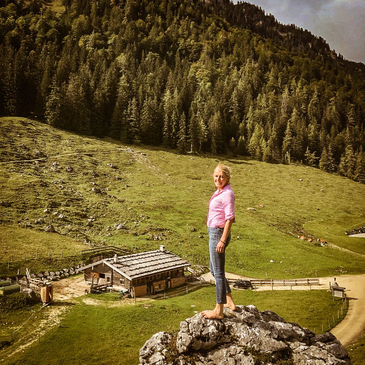 Yoga Sennerin - Anna Helminger in Ramsau