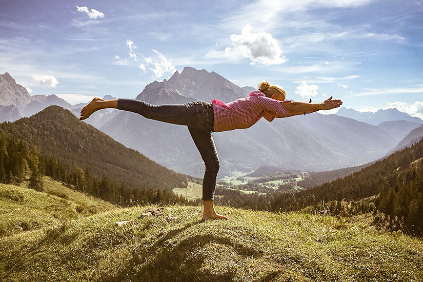 Yoga Waging - Anna Helminger - die Yoga-Sennerin